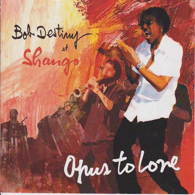 Pochette de l'album Opus to love - Bob Destiny et Shango