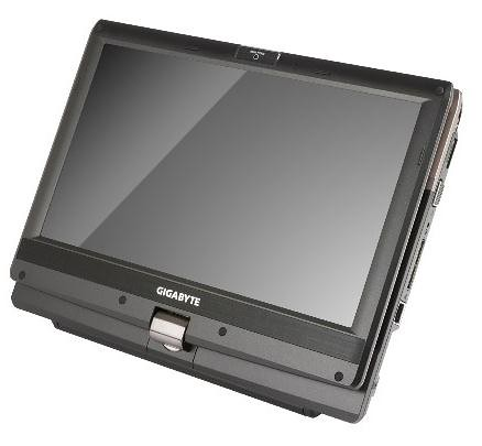 GIGABYTE Booktop T1132_tablet