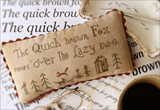 Favorite Font Sampler