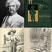 Small photo of Mark Twain and Adventures of Huckleberry Finn