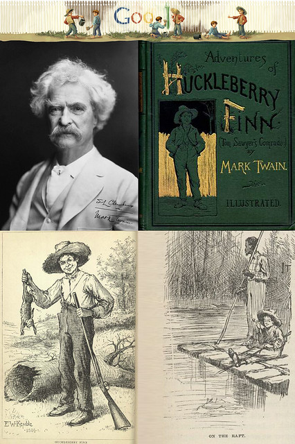Header of Adventures of Huckleberry Finn