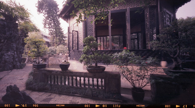 Wide Angle Pinhole Photography on 6x12 Medium Format Roll Film
