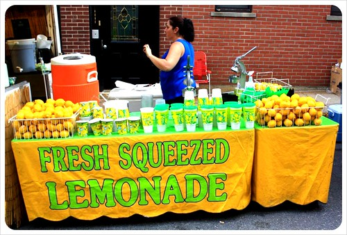 boston italian food market lemonade