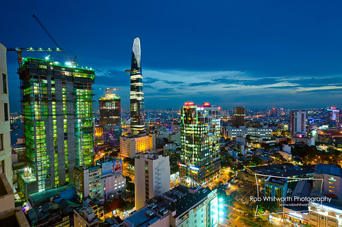 HCMC Cityscape at Dusk