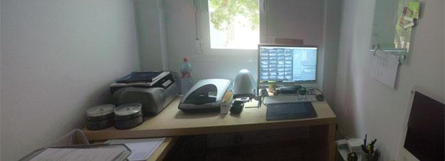 La primera oficina en casa de Asier3d