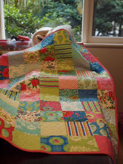 summer house quilted