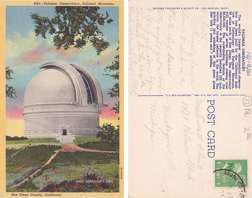 Palomar Observatory - San Diego County