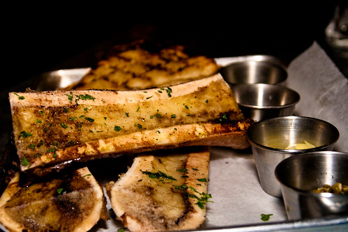 Roasted Bone Marrow at Meat & Potatoes