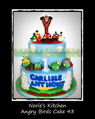 Norie's Kitchen - Angry Birds Cake 43 by Norie's Kitchen