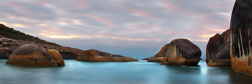 travel sea panorama cloud colour nature sunrise landscape dawn rocks australia subject westernaustralia elephantrocks cmwdblue madfishbay
