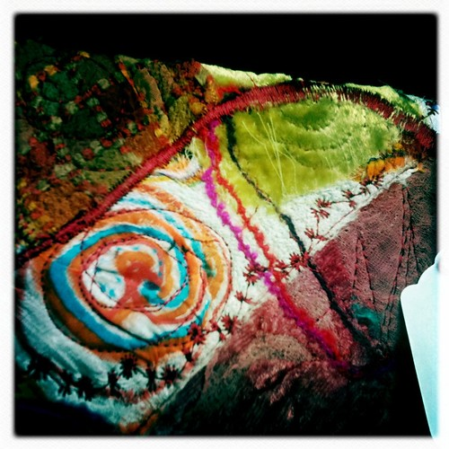 Felted fiber pouch