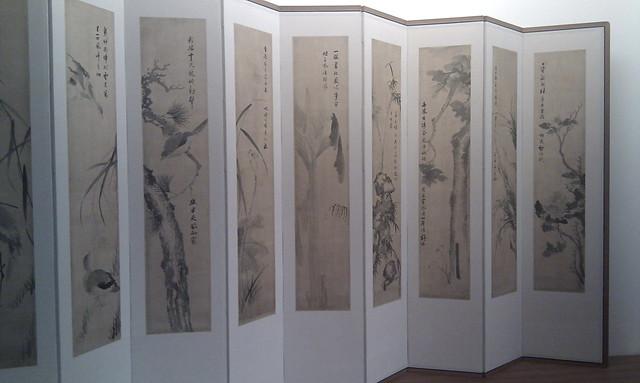 Musée Guimet - Paravent coréen