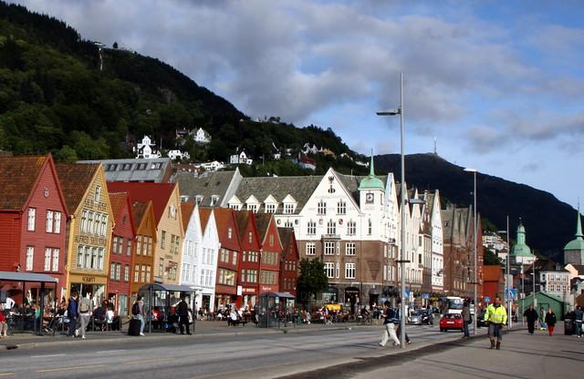 Picturesque Bryggen