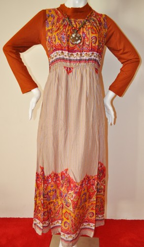 Gamis Orchid size XL