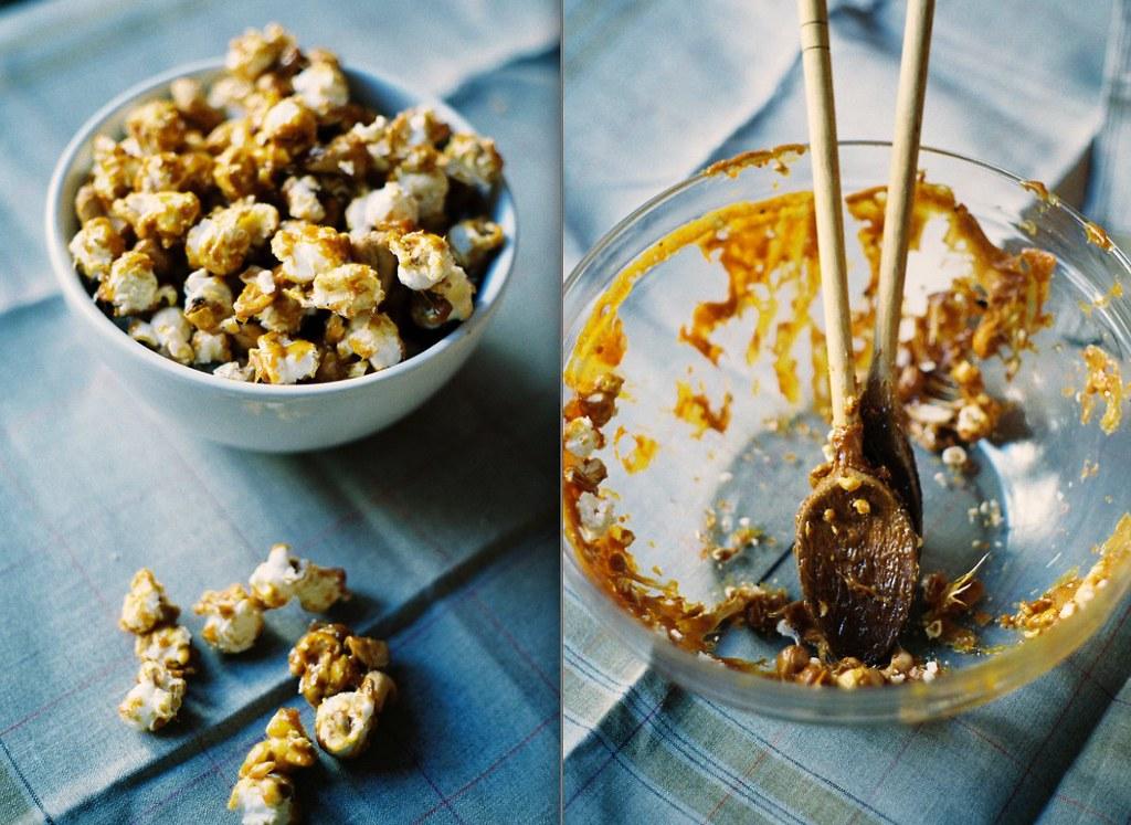 Spicy Caramel Cashew Corn