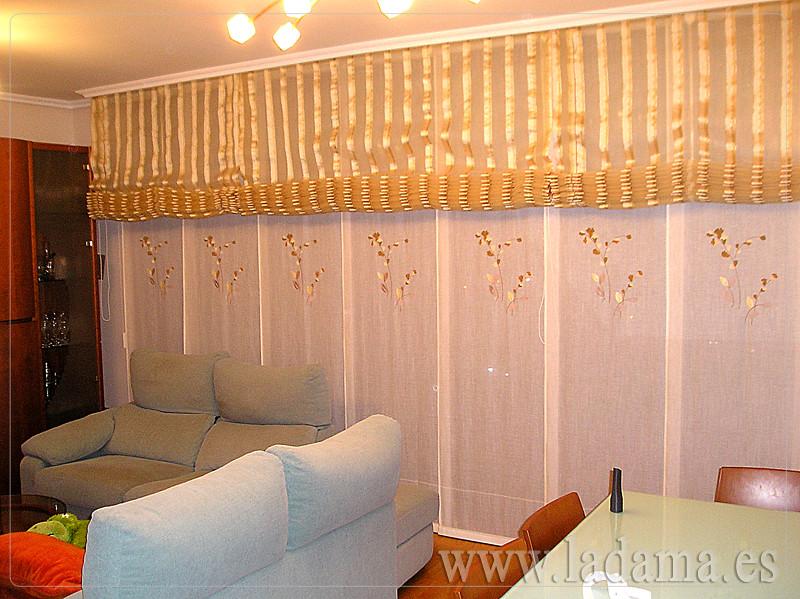 Fotos de cortinas instaladas en ambientes - Cortinas y estores para salones ...