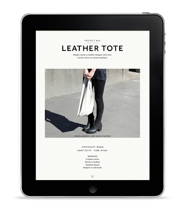 Milk DIY fashion iPad App 2