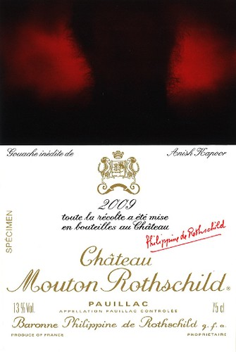 Anish Kapoor, Chateau Mouton Rothschild
