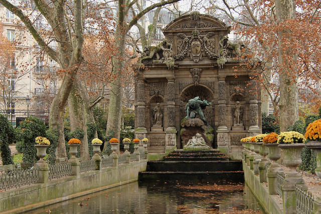 La fontaine m dicis paris france flickr photo sharing - Fontaine jardin du luxembourg ...