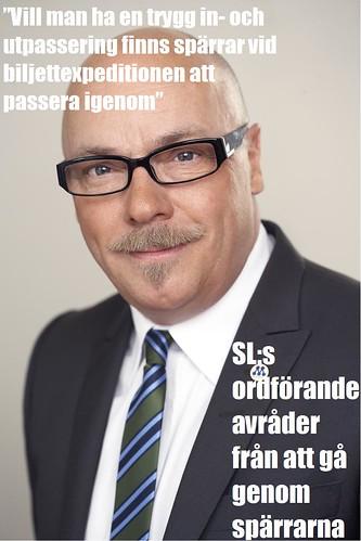 Christer G Wennerholm: använd inte spärrarna!