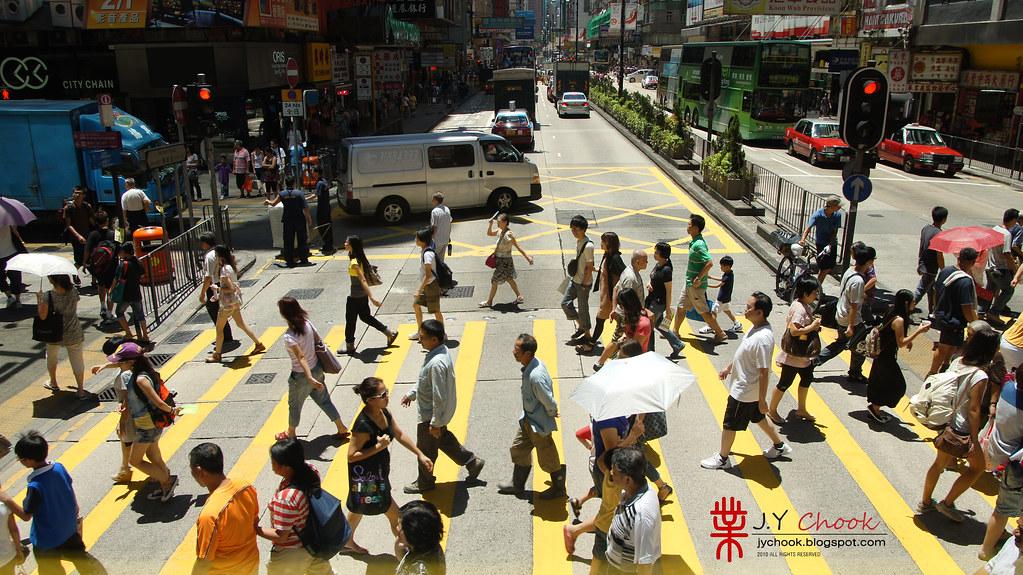 Zebra line @ Hong Kong