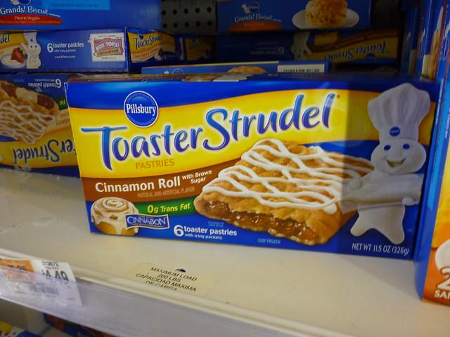Toaster Strudel cinnam...