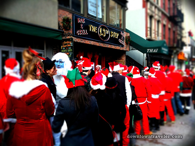 SantaCon NY 2011 East Village 13th Step Bar