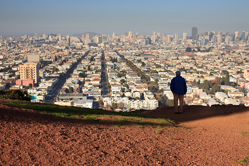 View from Bernal Hill Park