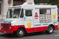 Ice Cream Truck in New York City