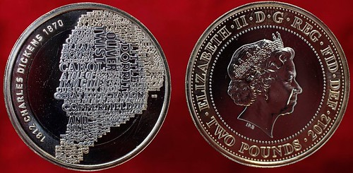 Britain Dickens Coin