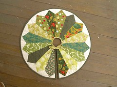 green tree skirt