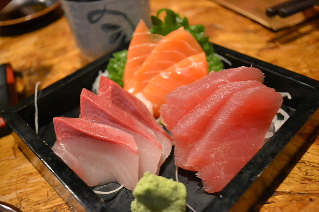 Sashimi Platter at En Japanese Dining Bar