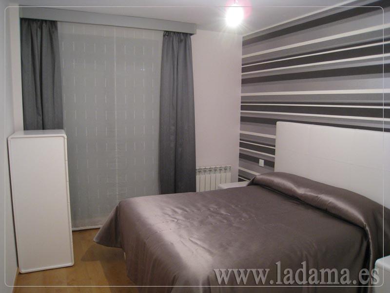 Fotograf as de dormitorios modernos la dama decoraci n - Cortinas modernas para dormitorio ...