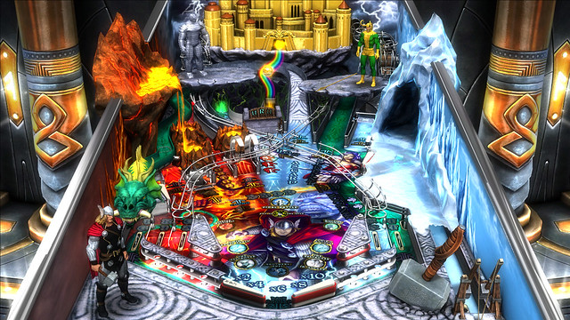 Marvel Pinball: Vengeance and Virtue: Thor table