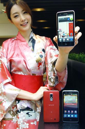 LG전자, '옵티머스 LTE' 일본 출시
