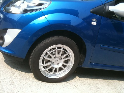 SiFo Original Forged Aluminum Wheel for Twingo Ⅱ CdA/GT & Clio Ⅱ RS