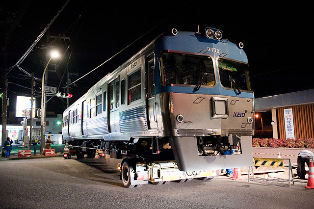 京王電鉄井の頭線 3000系 3028F クハ3778 陸送
