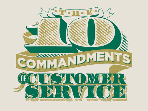 The 10 Commandments of Customer Service by todd_fooshee