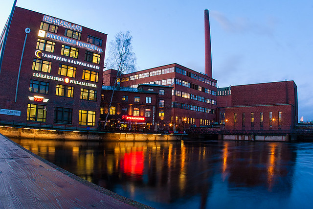 night in Tampere