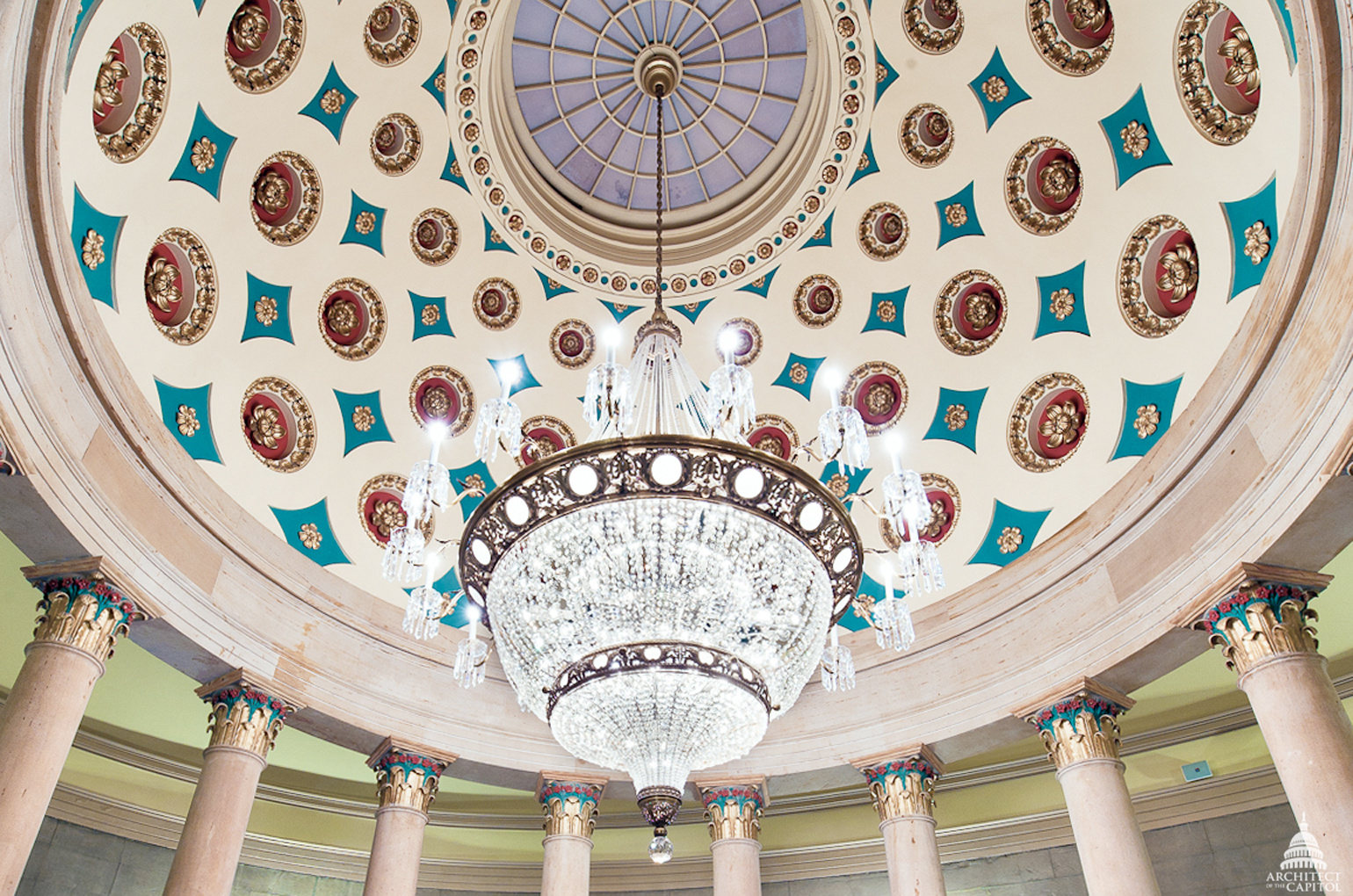 Small senate rotunda chandelier architect of the capitol united download link is external aloadofball Gallery