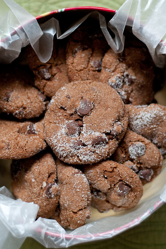 Vegan, Gluten-Free Chewy Chocolate Gingerbread Cookies ...