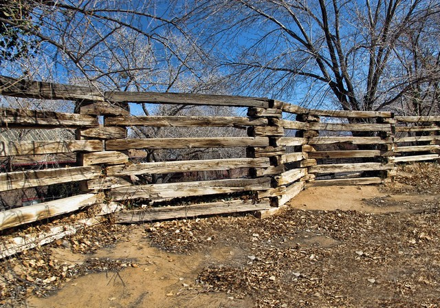 Zig zag fence if i was going to put