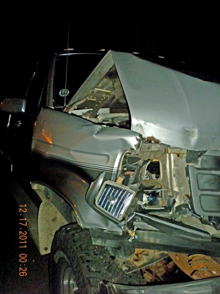 Its totaled.  Lifted F-250 Slammed me at 20 mph 6524215893_e44b5ec43d_o