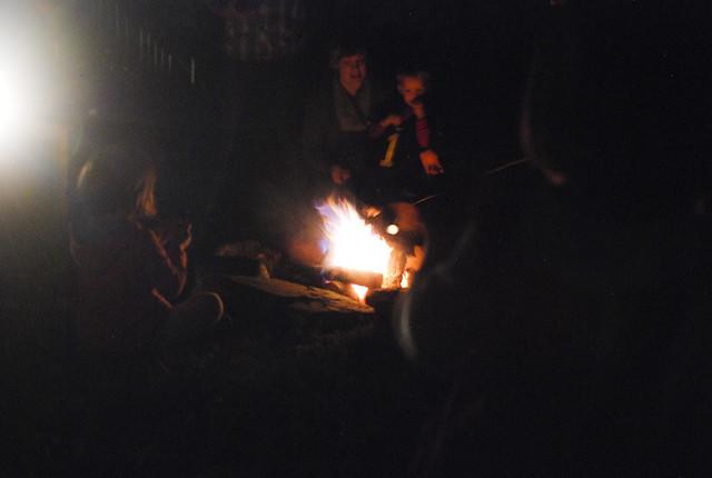 campfire and carols