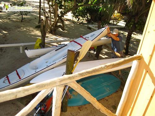 kayaking placencia belize