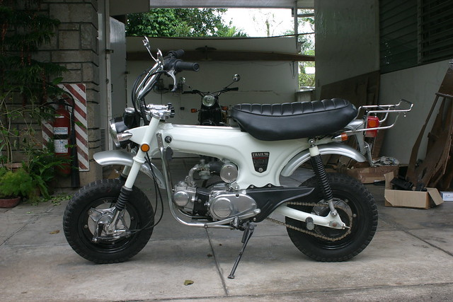 The Kid's Honda Dax
