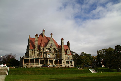 craigdarroch castle facade
