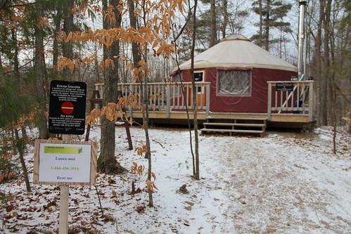 Taylor Lake yurt
