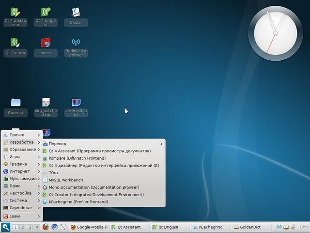 light ubuntu razor