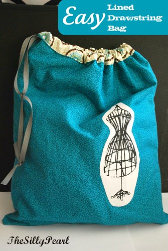 Easy Lined Drawstring Bag